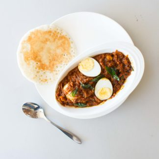 Kallappam and Egg roast